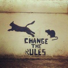 """#street_art: change the rules"""" #anarchy"""