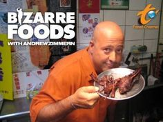Travel Channel's 'Bizarre Foods America' with Andrew Zimmern in Richmond