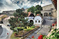 Eger - Hungary. A vár bejárata - Eger - Északi-középhegység fotó Szinok Gábor