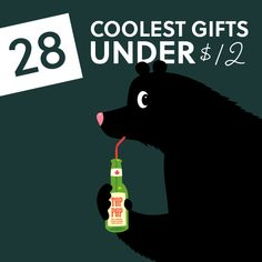 This is a great list of unique gifts that are affordable (under 12 dollars). Check it out!
