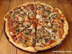 Smak Mojego Domu: Pizza z sosem pomidorowym i pieczarkami
