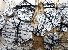 Ines Seidel, pattern of dissolution (detail)