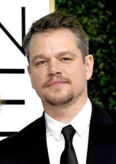 Actor Matt Damon attends the 74th Annual Golden Globe Awards at The Beverly Hilton Hotel on January 8, 2017 in Beverly Hills, California.