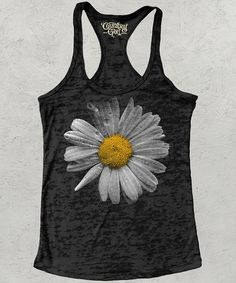 Look at this Country Girl Black Daisy Racerback Tank on today! Country Girl Style, Country Girls, My Style, Love Fashion, Girl Fashion, Cool Outfits, Summer Outfits, Country Attire, Cool Tees