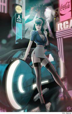 Blade Runner by Alex Amezcua