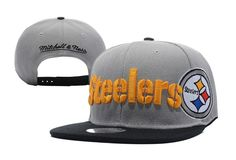 cf42c1c3 Mitchell & Ness Pittsburgh Steelers Throwback Laser Stitch Snapback ...