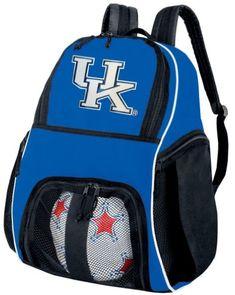 1e9fd539c9 University of Kentucky Soccer Ball Backpack Kentucky Wildcats Volleyball Bag  Travel Practice     See