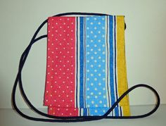 Cross-body Pouch Cross body pouches Striped by beckyspillowshop