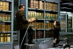 ANGELS & DEMONS, from left: Tom Hanks, Ayelet Zurer, 2009 | Essential Film Stars, Tom Hanks http://gay-themed-films.com/film-stars-tom-hanks/