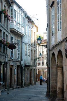Spain, Galicia, A Coruña, Santiago de Compostela