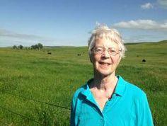 """Linda Hasselstrom, author of """"Dakota Bones"""""""