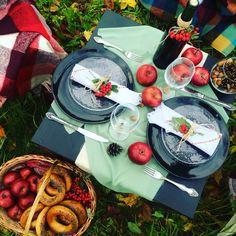 Пикник в парке, осень