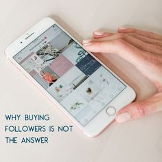 Want to grow your social media following? Here's 5 reasons why you should NOT buy followers. Fake Followers, Buy Instagram Followers, Instagram Insights, Small Business Resources, Instagram Handle, Content Marketing, Social Media, Platforms, Period
