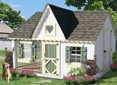 A Dog House!  How clever!  This will go right next to Breleigh's play house!