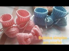 How to crochet baby SHOES step by step Baby Knitting Patterns, Crochet Patterns, Crochet Baby Booties, Crochet Slippers, Baby Girl Gift Sets, Baby Shower Gender Reveal, Knit Or Crochet, Diy And Crafts, Youtube