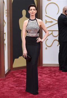 Are you digging #AnneHathaway's #Oscars #dress? See more looks on Wonderwall: http://on-msn.com/1dR67ex