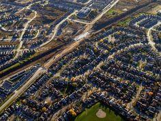 US Metro areas grow faster than the suburbs.