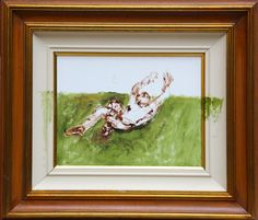 Defesaça | Enio Squeff, 2014 | 54x62 cm | acrílico s/ tela e moldura