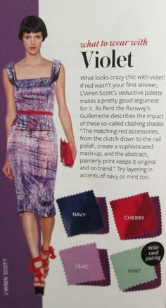 Instyle Color Crash Course - Violet