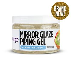 FondX Piping Gel 1 lb - Clear Piping Gel that does it all | CaljavaOnline.com