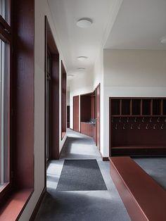 Fiechter & Salzmann Architekten - Schoolhouse, Ballwil 2012.
