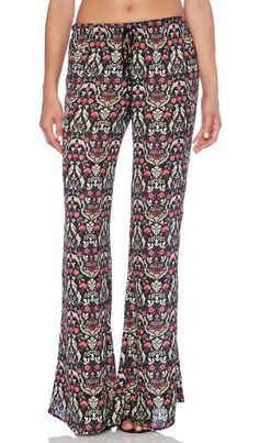 Band of Gypsies Patterned Flare in Multi