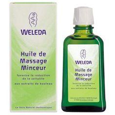 Huile Massage Minceur Bio 100ml Weleda