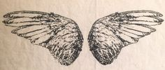 Wings patch by LimberlostArts on Etsy