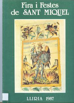 Cubierta Libro de Fiestas de 1987