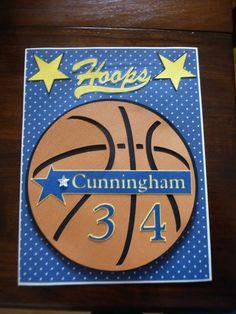 Locker signs for my granddaughter's JV basketball team