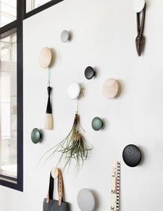 The DOTS – Modern Scandinavian Design Coat Hooks by Muuto - Muuto