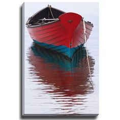 84.99-16W X 2D X 20H / 100.07-20W X 2D X 24H Bashian Home White Dory by Katherine Gendreau Photographic Print on Wrapped Canvas