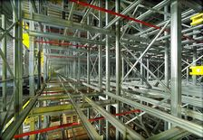 High-rise racking system for pallets - SSI SCHÄFER