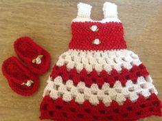Hey, I found this really awesome Etsy listing at https://www.etsy.com/listing/235500004/crochet-newborn-dress-and-flip-flops