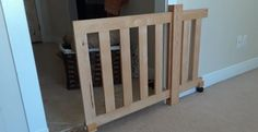 Diy dog gate from futon frame and garage spare materials. : woodworking - Diy dog gate from futon frame and garage spare materials. Diy Dog Gate, Diy Gate, Diy Baby Gate, Wood Baby Gate, Barn Door Baby Gate, Futon Frame, Dog Rooms, Diy Woodworking, Home Projects