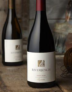 Riverbench Wine Riverbench Vineyard  Winery Wine Label  Package Design Reserve Santa Maria Valley