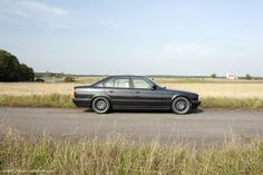 1995 BMW E34 540i with the 6 speed transmission. A dream car of mine.