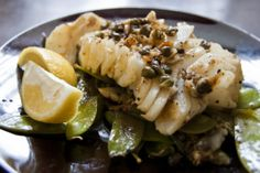 Pan Seared Cod with Lemon Caper Sauce | Lifterly