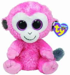 Amazon.com: TY Beanie Boos - SHERBET the Monkey ( Beanie Baby Size - UK Exclusive): Toys & Games