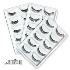 de Prettilicious Different style) Natural False Eyelashes Set. CHRISTMAS SALE NOW! Best gift for her, perfect for Thanksgiving and Christmas presents. ** Be sure to check out this awesome product. Natural False Eyelashes, Fake Eyelashes, Wax Bath, Eyelash Sets, House Of Lashes, Best Gifts For Her, My Makeup Collection, Eyelash Extensions, Different Styles
