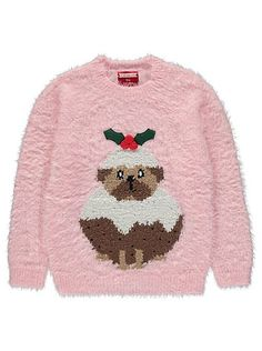 Christmas Pudding Pug Jumper, read reviews and buy online at George at ASDA. Shop from our latest range in Kids. Featuring a pug as a Christmas pudding that'...