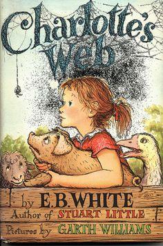 1952 Charlotte's Web book cover.