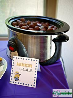 Minion Party Food - Whimsicle