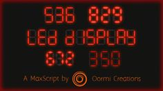 LED Display | ScriptSpot