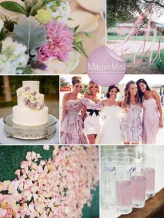 mauve mist and lavender fall wedding color ideas 2014