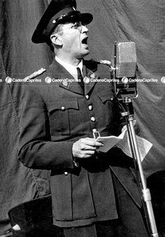 El Comandante Carlos Delgado Chalbaud. Foto: Archivo Fotográfico/Cadena Capriles