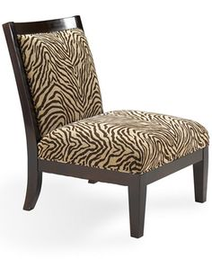 Delrey Living Room Chair, Armless Accent Chair