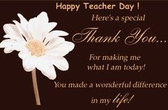 In this post you will get top and best collections of the Happy Teachers Day pictures, quotes and inspirational stuff. Teachers Day Card Message, Happy Teachers Day Wishes, Greeting Cards For Teachers, Birthday Wishes For Teacher, Teachers Day Greetings, Teacher Cards, Teacher Quotes, Teacher Gifts, Teachers Day Pictures