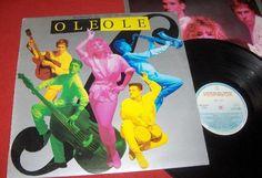 """Olé-Olé, """"Bailando Sin Salir De Casa"""" 1986 (con gráfica de Juan Gatti <3)"""