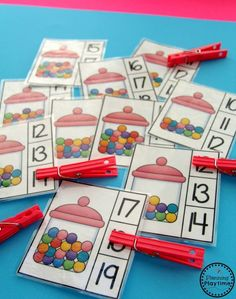 Fun Counting Activities for Kindergarten and First Grade.